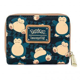 Loungefly Pokemon Snorlax Zip Around Wallet