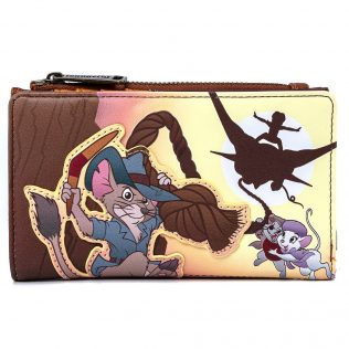 Loungefly Disney The Rescuers Down Under Flap Purse