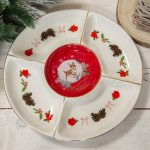 Disney Christmas By Widdop And Co Serving Plate – Bambi