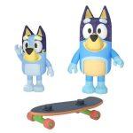 Bluey Skateboarding 2-Pack Figure