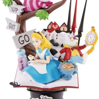 Disney Beast Kingdom – Alice in Wonderland Statue Dstage DS-010