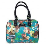 Disney Loungefly Moana Floral Tote Bag