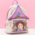 Disney Loungefly Tangled Tower Scene Mini Backpack