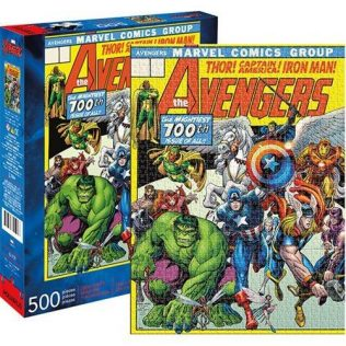 Marvel Avengers Cover 500pc Puzzle