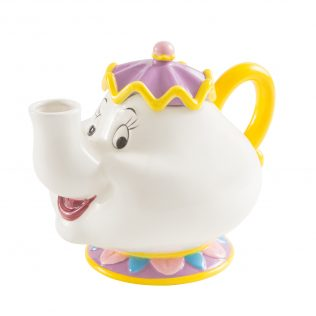 Disney Beauty and the Beast Mrs. Potts Sculpted Vandor Ceramic Teapot