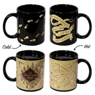 Harry Potter – Marauder's Map Heat Change Mug