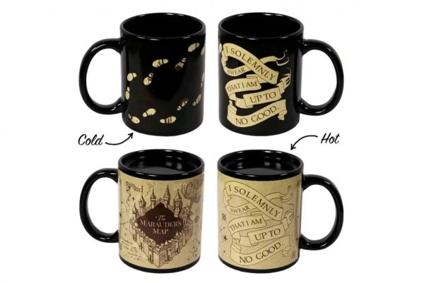 Harry Potter - Marauder's Map Heat Change Mug