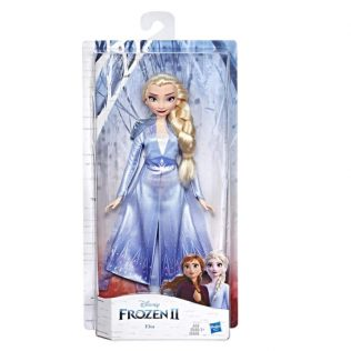 Disney Frozen 2 – Elsa Fashion Doll in Long Blonde Hair & Blue Movie Inspired Outfit