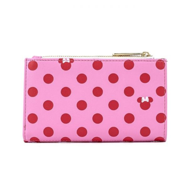 Loungefly Disney Mickey Mouse Minnie Pink Polka Dot Purse