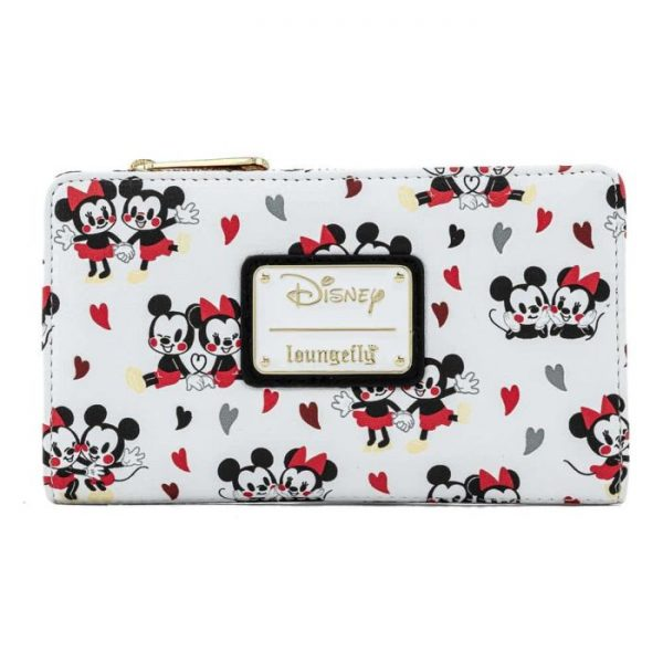 Loungefly Disney Mickey Mouse Mickey Minnie Love Purse