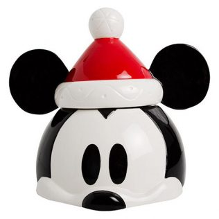 Disney – Mickey Mouse Christmas Cookie Jar