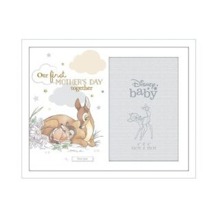 DISNEY MAGICAL BEGINNINGS MOTHERS DAY PHOTO FRAME – BAMBI FIRST MOTHER'S DAY