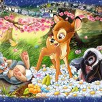 Ravensburger Disney Moments Bambi 1942 1000PC Puzzle