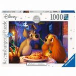 Ravensburger 1000pc Disney Moments 1955 Lady and Tramp