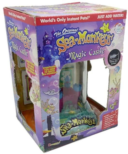The Original Sea-Monkeys Magic Castle Gift Boxed