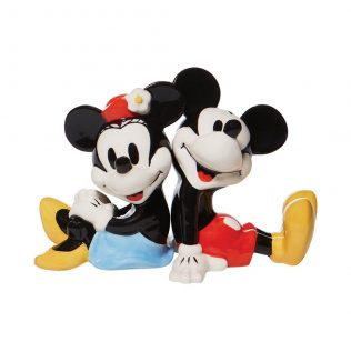 Disney Salt and Pepper Shaker – Mickey and Minnie