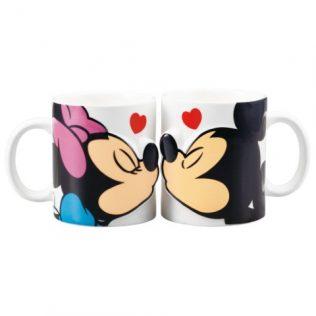 Disney Mickey and Minnie Pair Mugs