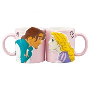 Disney Tangled Rapunzel and Flynn Pair Mugs