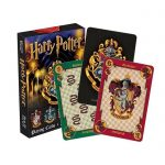 Harry Potter House Crests Playing Cards