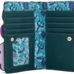 Loungefly Disney Villains Ursula Crystal Ball Flap Wallet