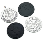 Star Wars – Metal Coasters – Set of 4