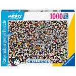 Ravensburger Puzzle 1000pc – Disney Challenge Mickey Mouse