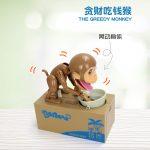 Adorable Coin Stealing Monkey Mechanical Coin Money Bank