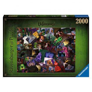 Ravensburger Disney Villainous – The Worst Comes Prepared Puzzle (2000 pieces)
